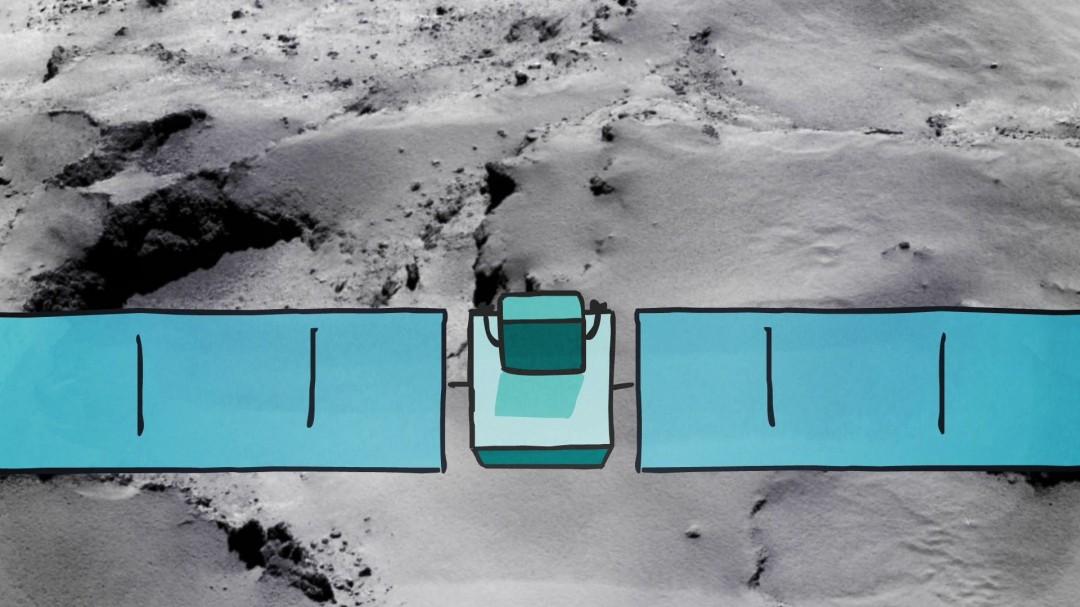 La mission de Rosetta expliquée en dessin animé