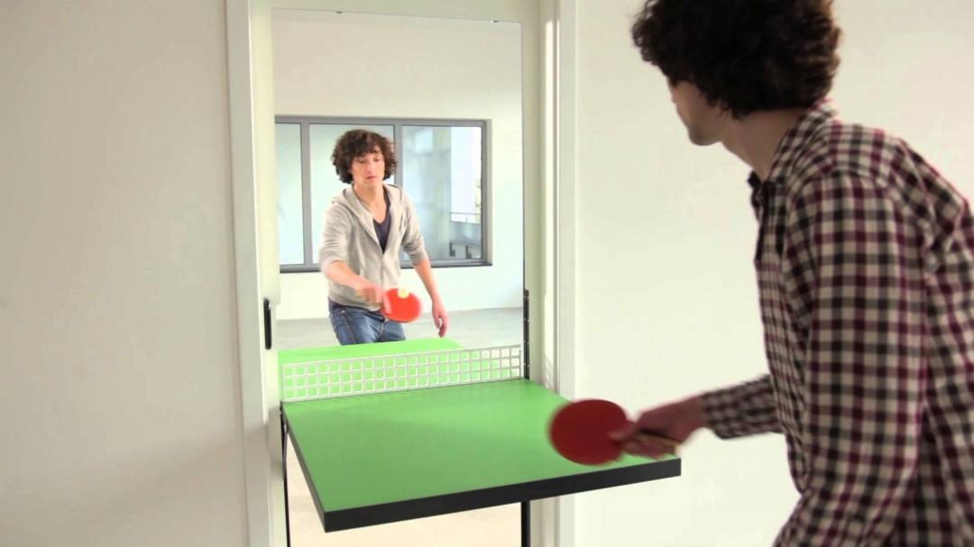 Porte de ping pong