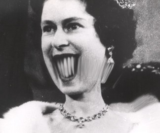 Distortion Of Queen Elizabeth II