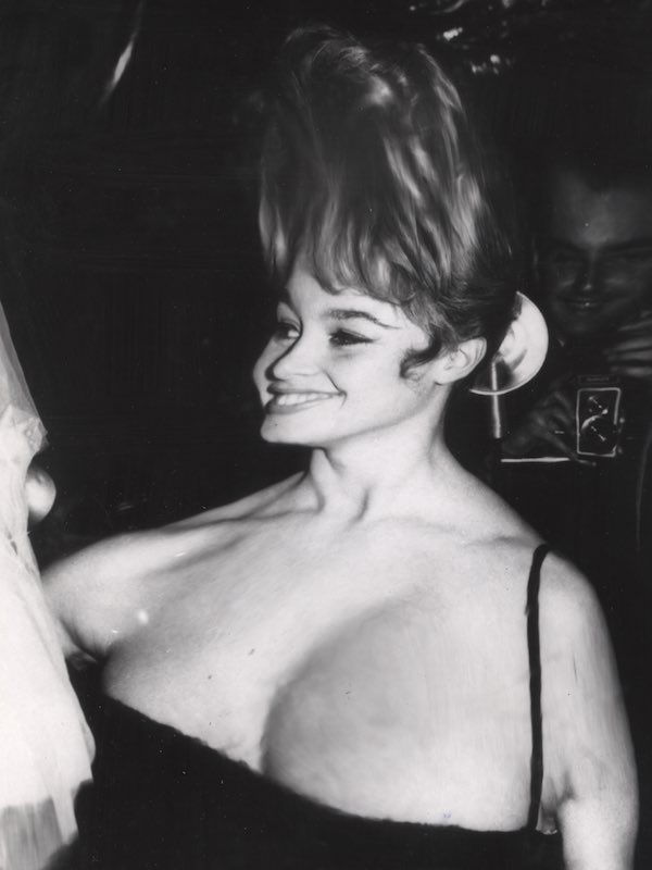 Distorted Image Of Bardot
