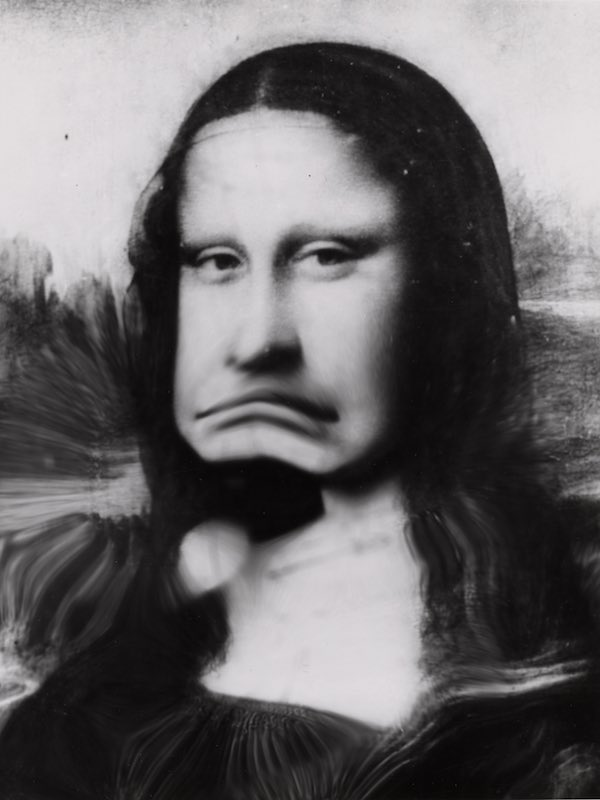 Distorted Mona Lisa