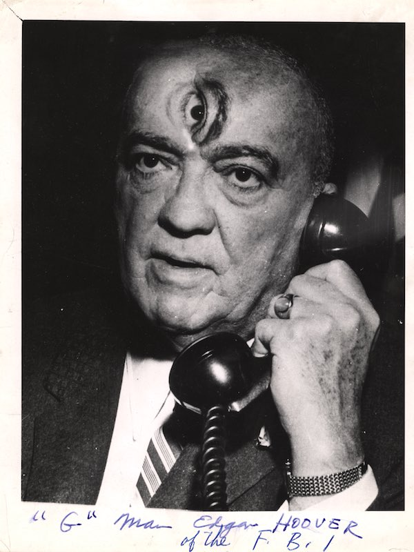 J. Edgar Hoover Distortion