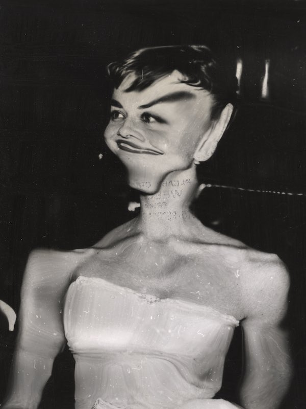 Distortion Of Audrey Hepburn