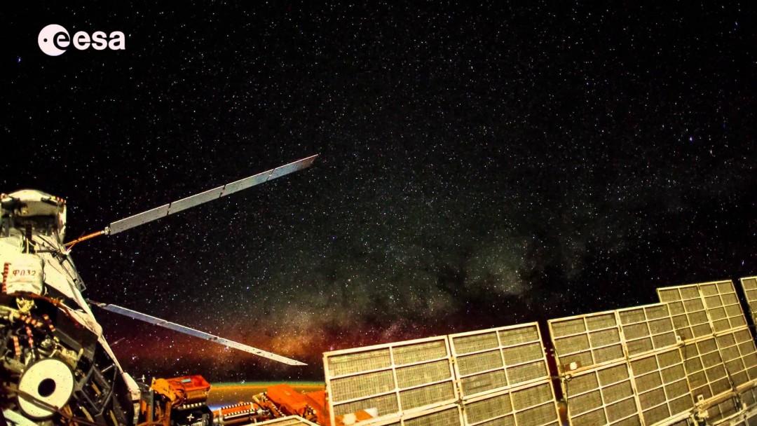 6 minutes de Terre qui défile depuis l'ISS