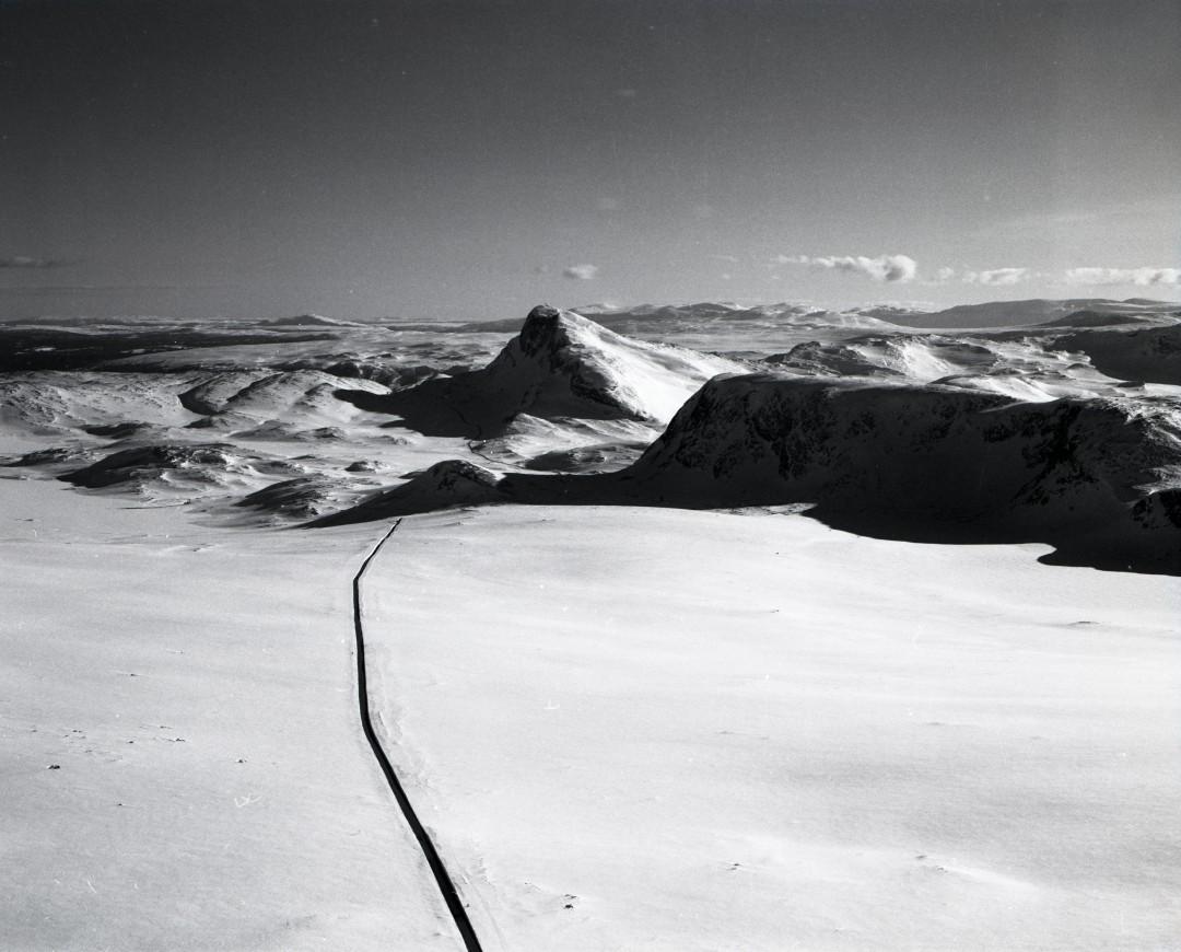 Valdresflya-route-neige