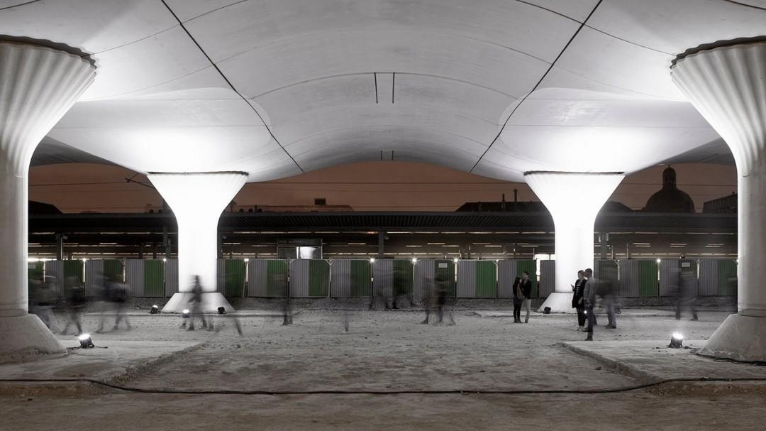 De la lumière dans la gare d'Austerlitz