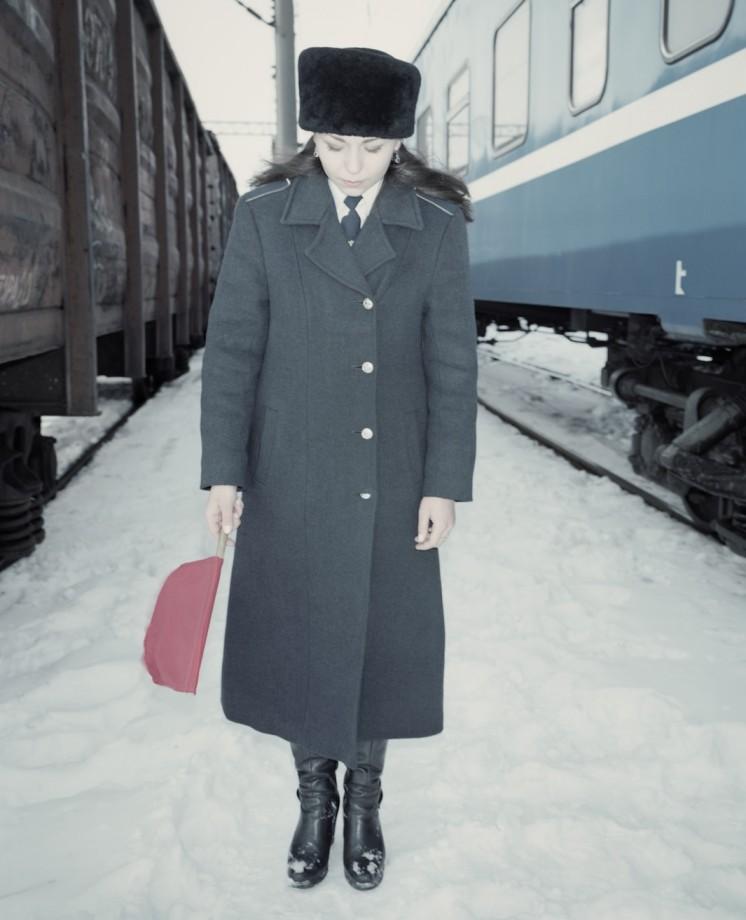 Marina, Miss Belarusian Railway in Brest region