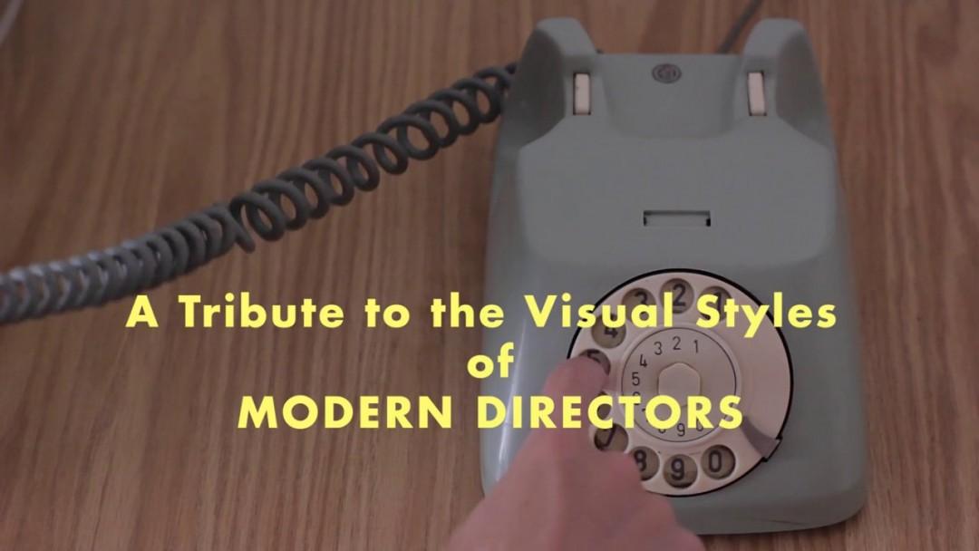 Le style de grand réalisateurs en vidéos génériques
