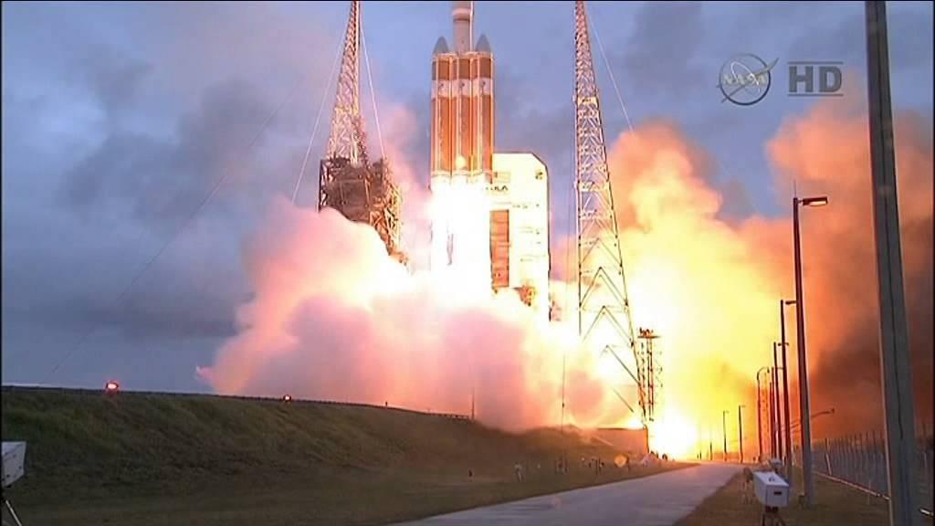 Les images du lancement de la capsule Orion