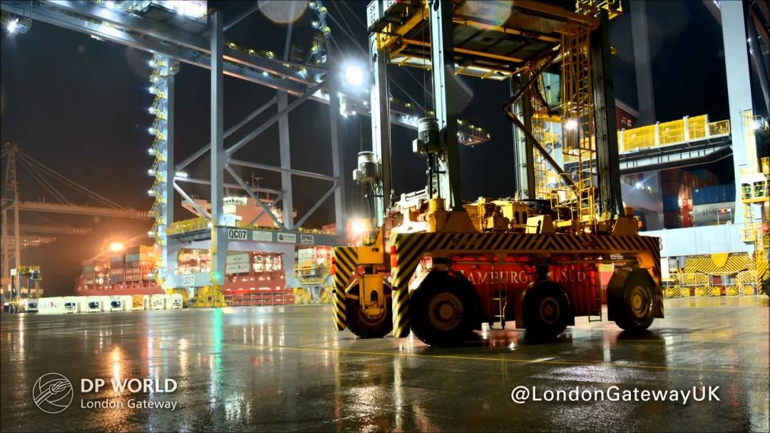 Les opérations à London Gateway