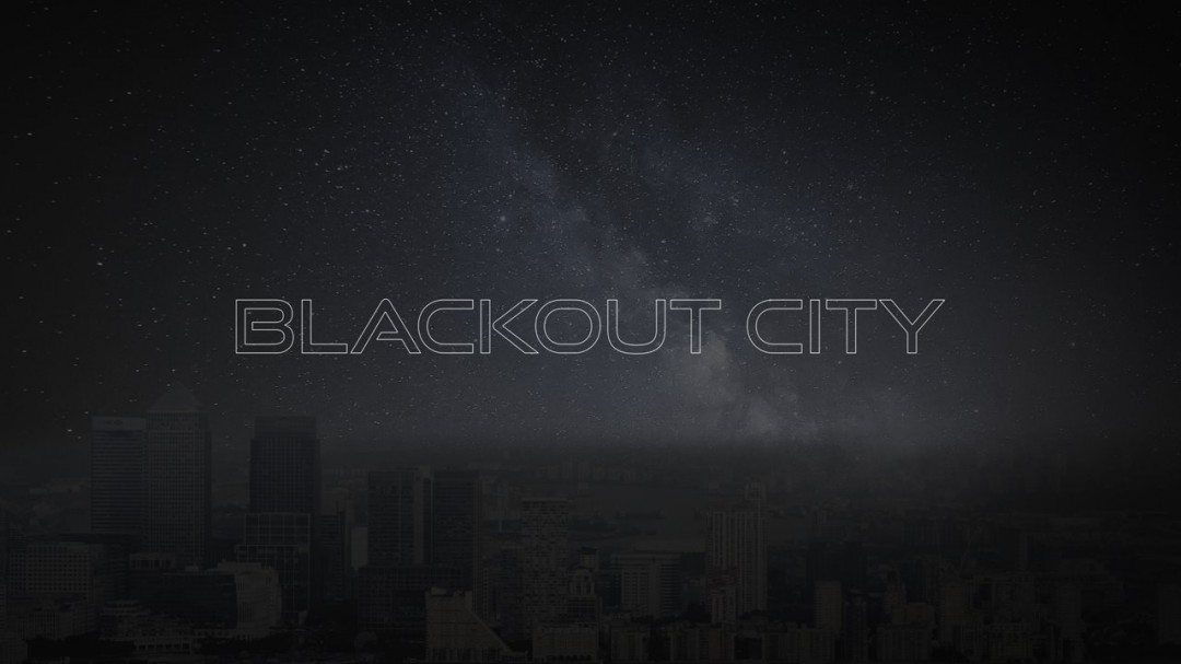 Londres de nuit sans lumière