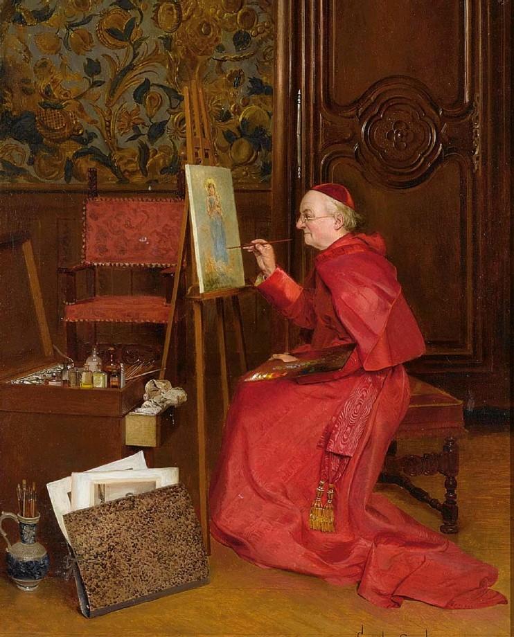 peinture-Cardinal-Georges-Croegaert-16