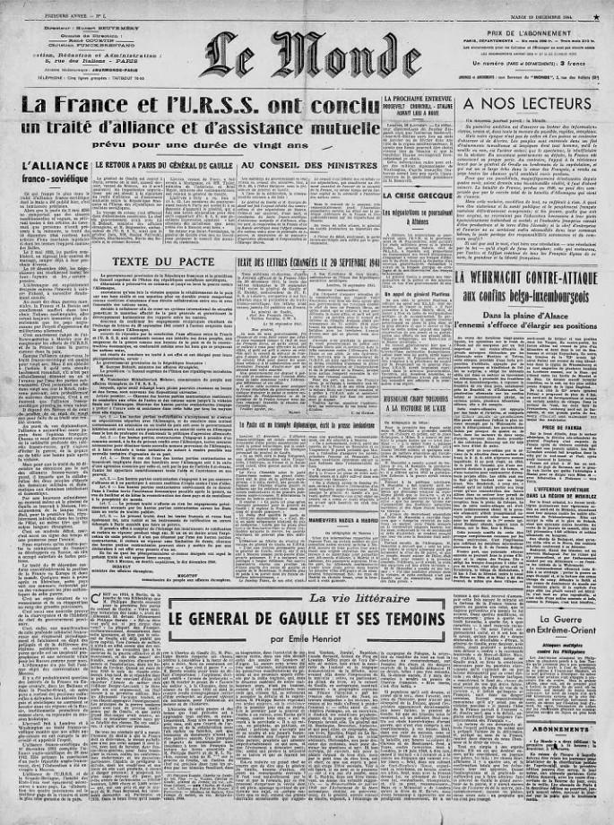 premier numero magazine journal 10 685x920 Les premiers numéros de magazines et journaux
