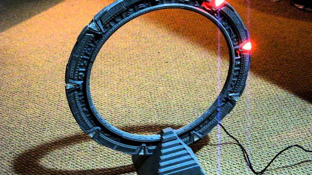 Une porte des étoiles imprimée en 3D