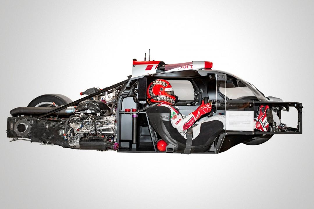 L'Audi R18 des 24hH du Mans