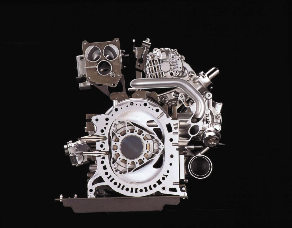 Un moteur rotatif