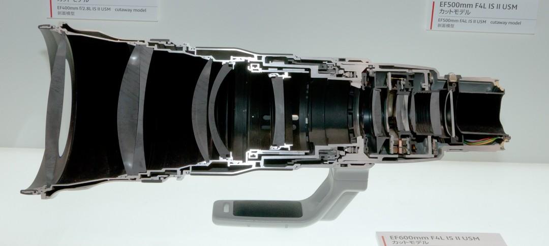 Un objectif 600mm F4 Canon