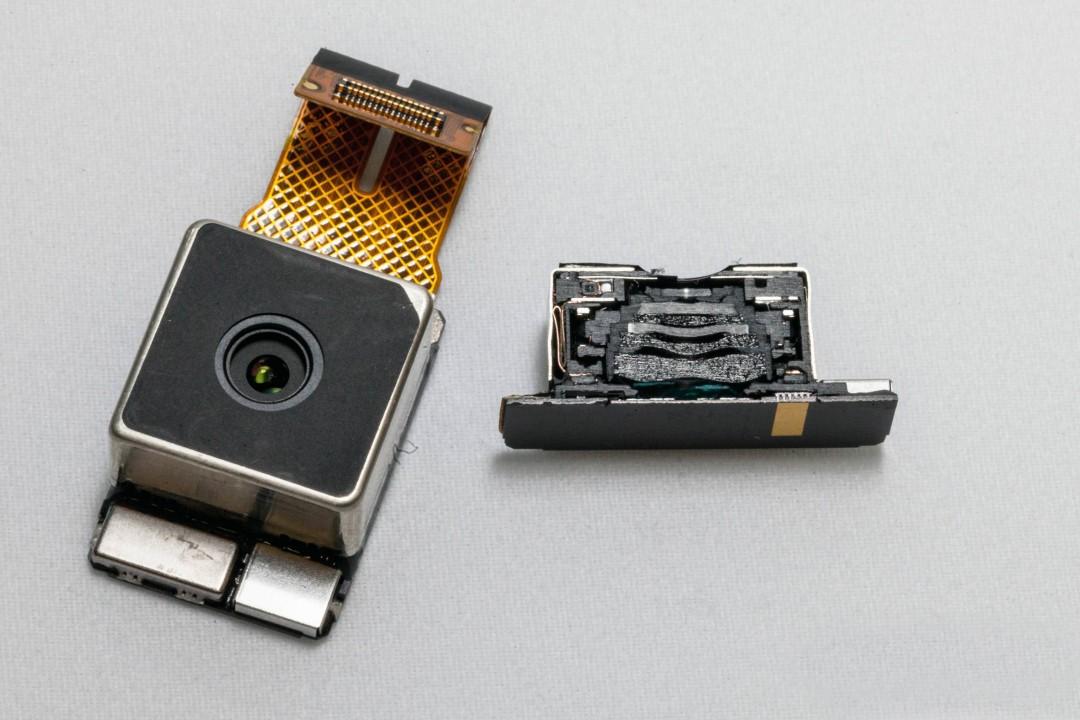 L'appareil photo du téléphone Lumia 1200 de Nokia