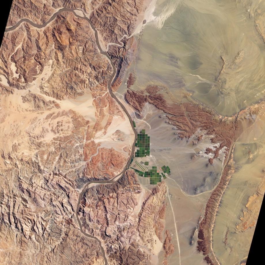 fleuve-orange-irrigation-sattelite