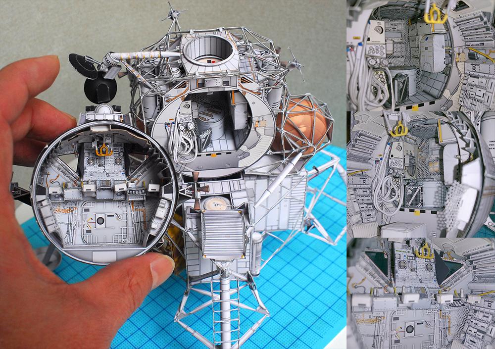 apollo spacecraft paper model - photo #33
