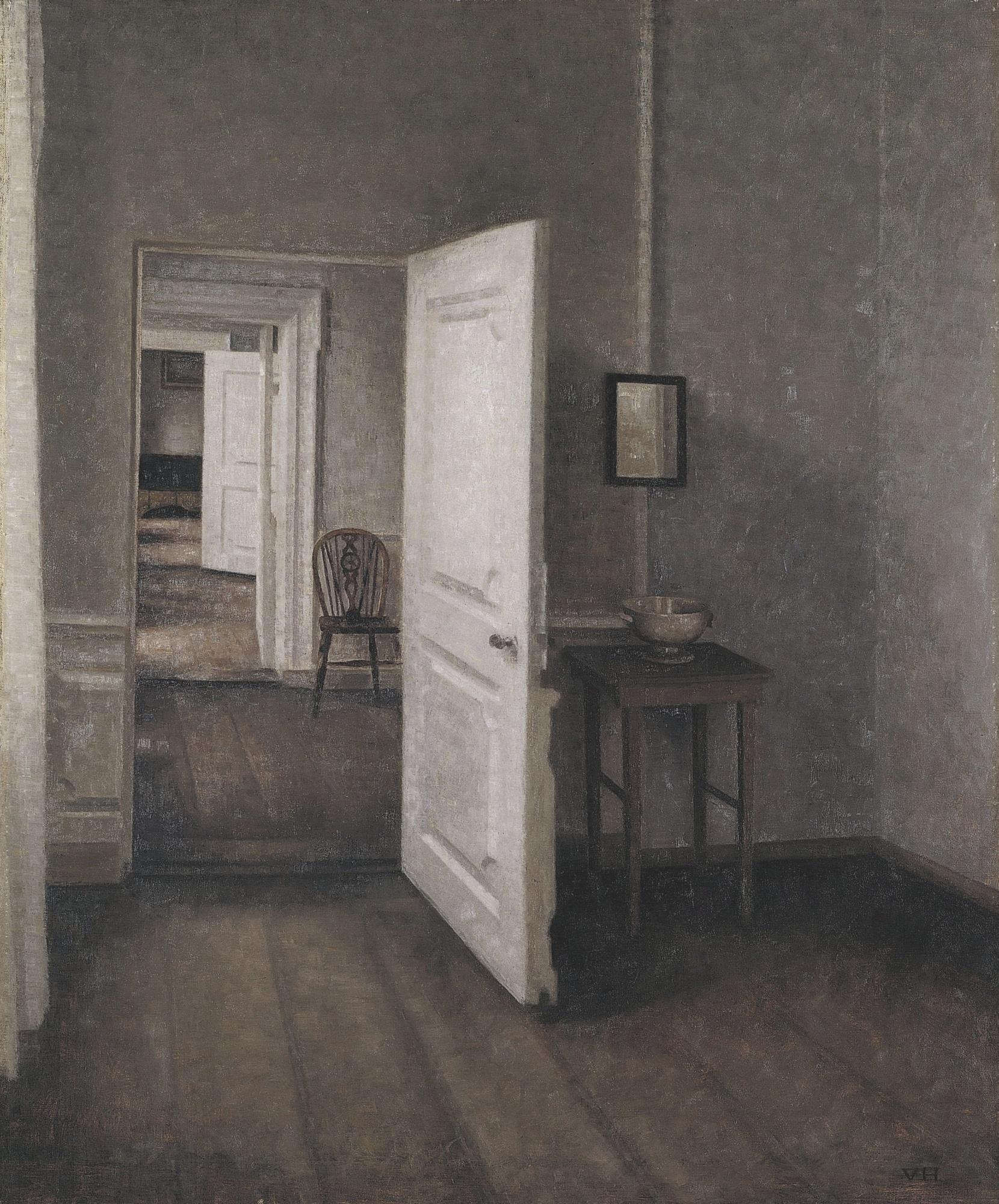 Hammershøi, le maître de la peinture danoise au musée Jacquemart André Willem-hammershoi-13