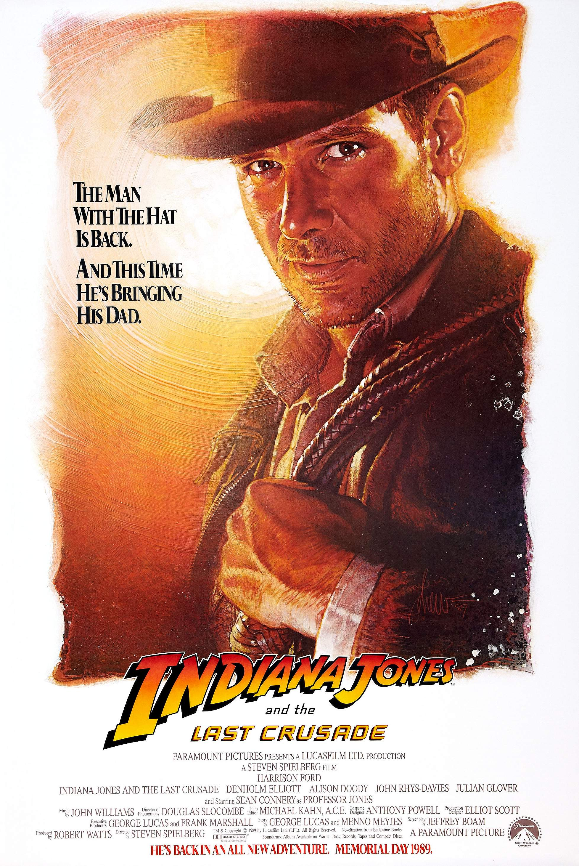 13 Drew Struzan Affiche Indiana Jones 02 La Boite Verte