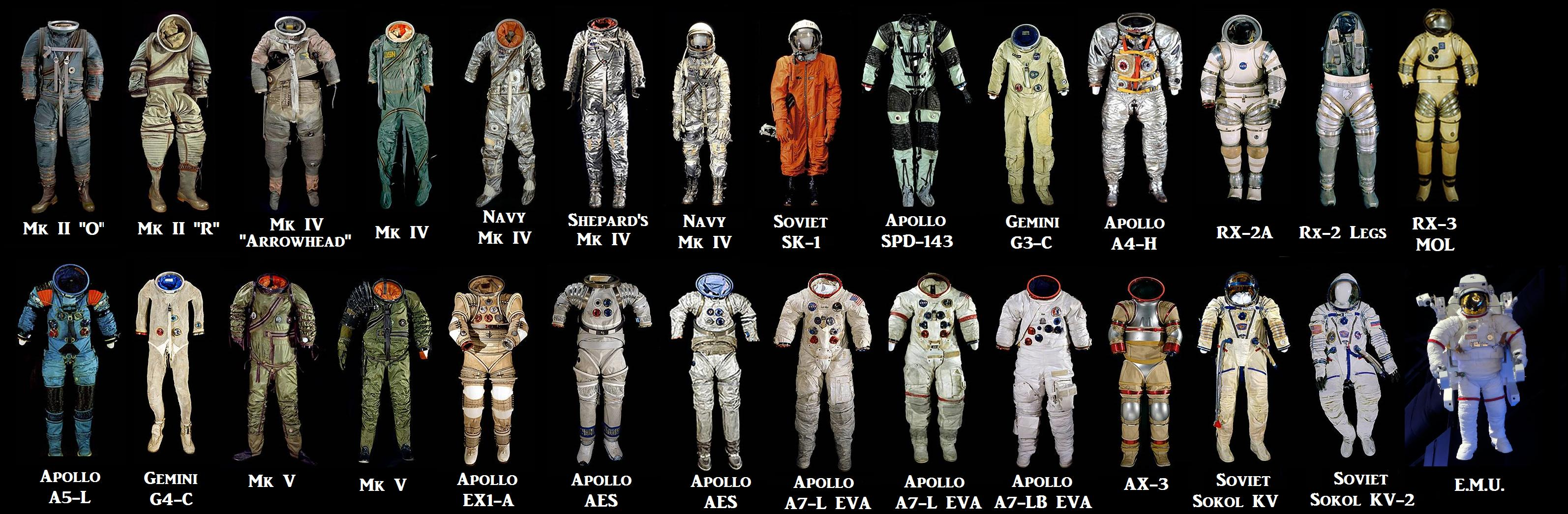apollo space suit development - photo #34