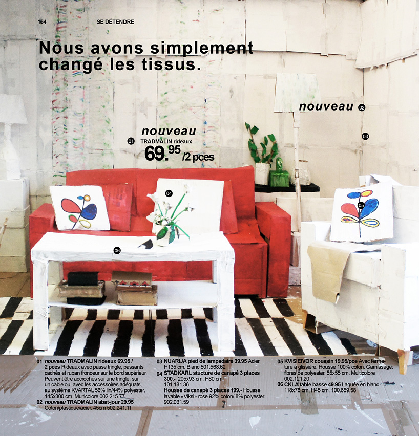 ikea catalogue carton 03 la boite verte. Black Bedroom Furniture Sets. Home Design Ideas