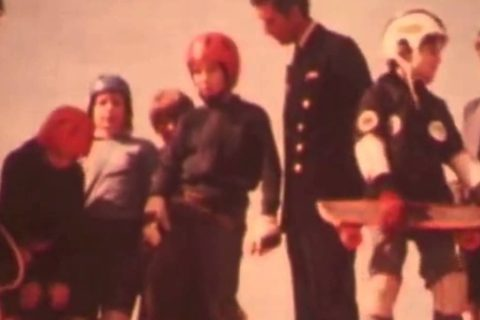 Le prince Charles fait du skateboard – 1970