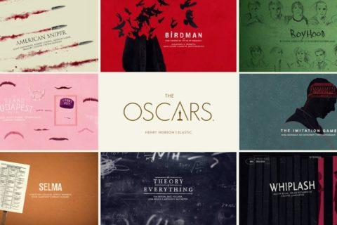 Les séquences graphiques des Oscars 2015