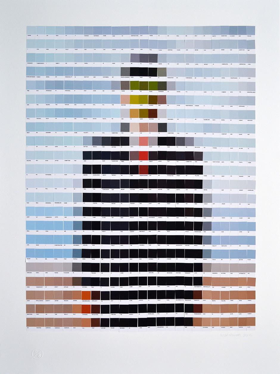 Oeuvre Art Nuancier Pantone 01 La Boite Verte
