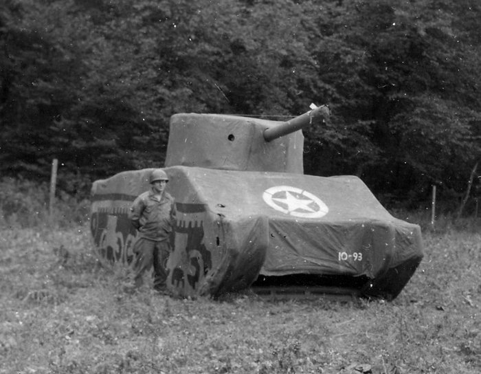 Tank Gonflable Seconde Guerre Mondiale