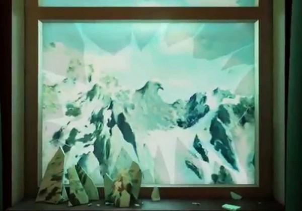 Des Magritte comme décors de jeu