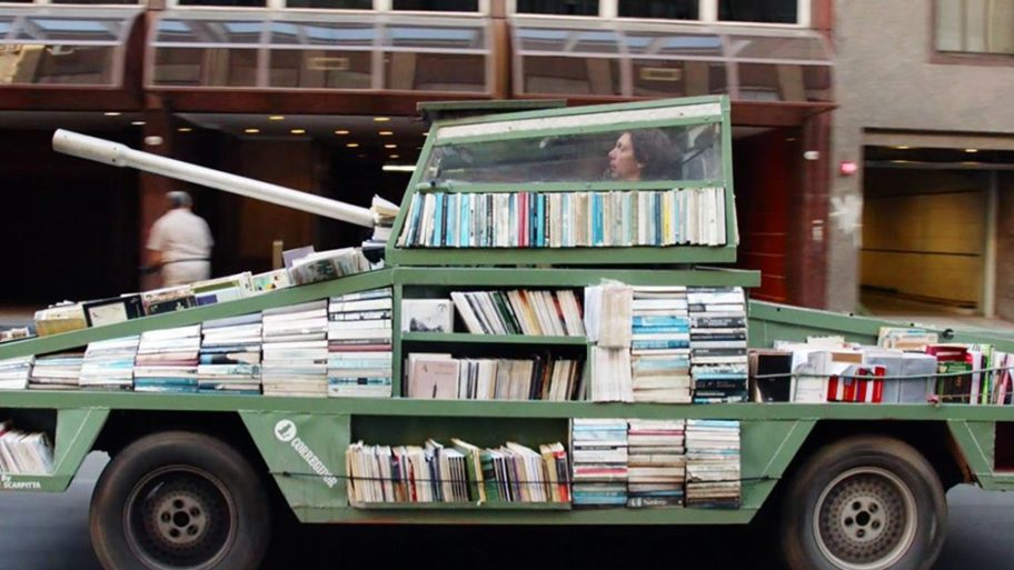 Un tank littéraire