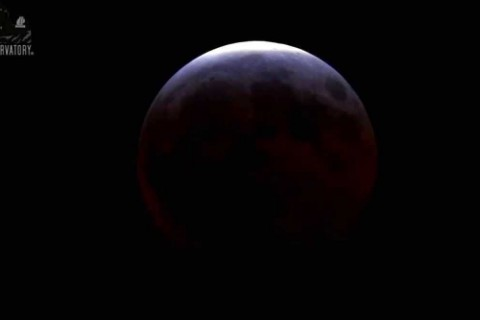 La plus courte éclipse lunaire du siècle en temps réel
