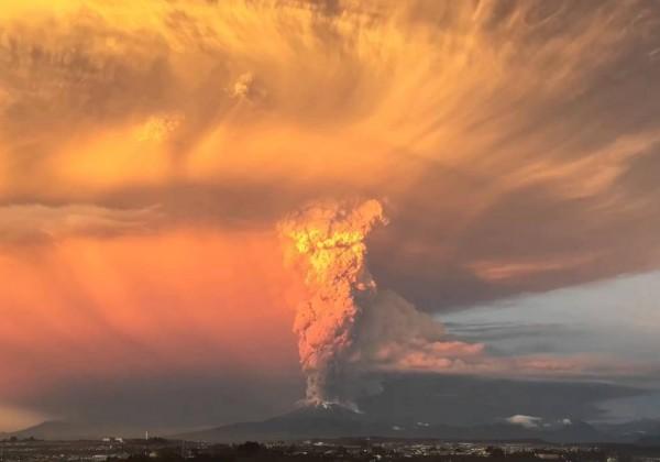 L'éruption du Calbuco au Chili