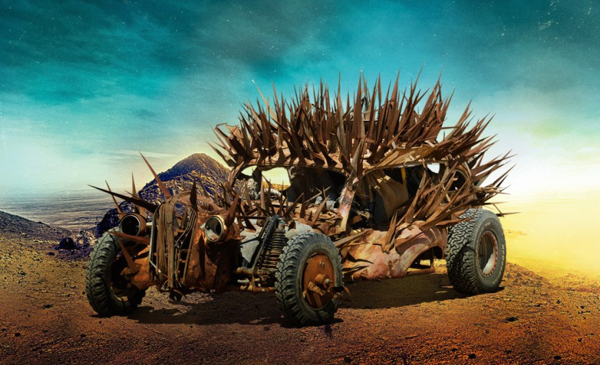 les voitures de mad max fury road. Black Bedroom Furniture Sets. Home Design Ideas