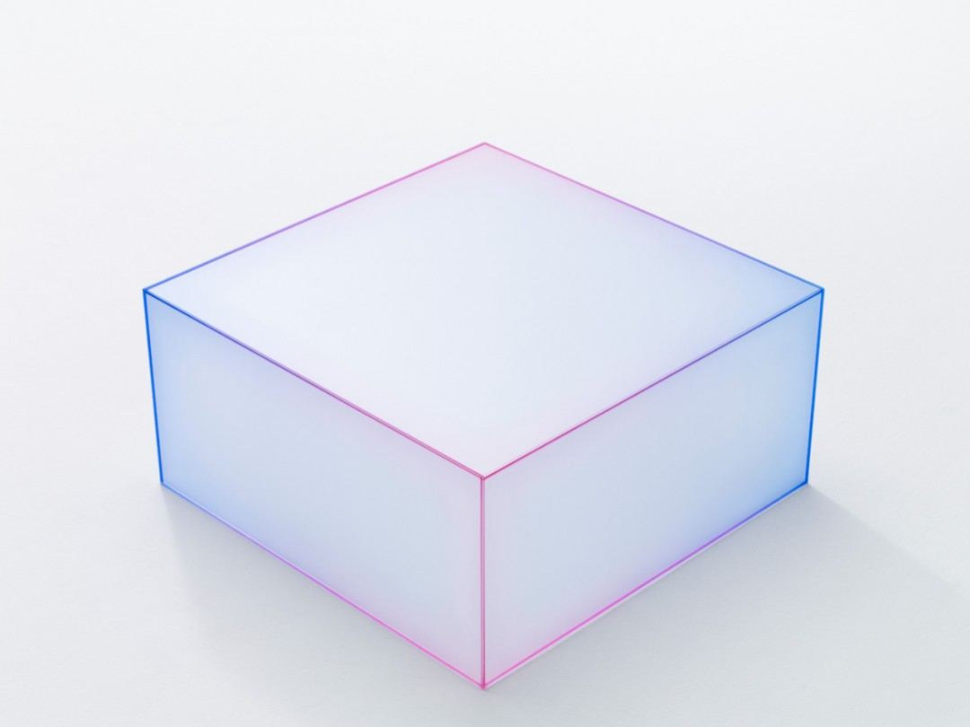 les cubes en verre doux de nendo. Black Bedroom Furniture Sets. Home Design Ideas