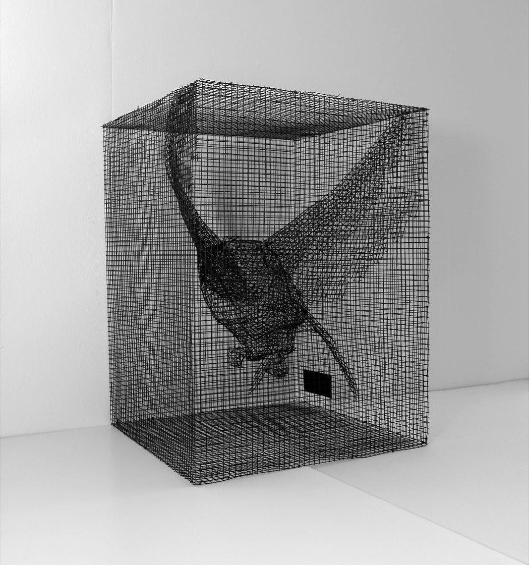 Sculpture Grillage A Poule sculpture grillage