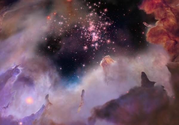 Un voyage dans une nébuleuse pour les 25 ans d'Hubble