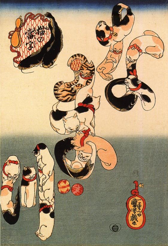 chat-japon-estampe-bois-Utagawa-Kuniyoshi-05