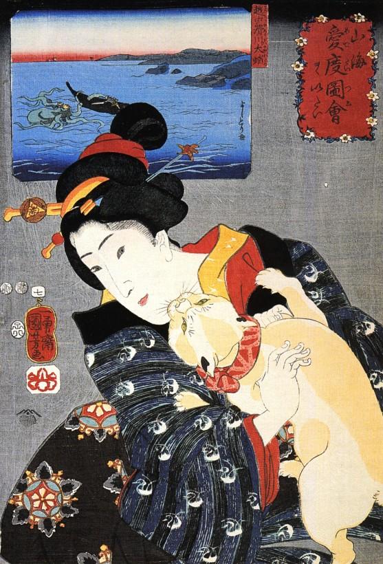 chat-japon-estampe-bois-Utagawa-Kuniyoshi-06