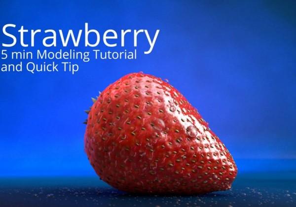 Comment faire une fraise en 3D