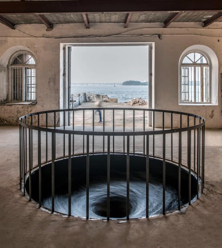 L'installation originale  au Fort Cochin en Inde