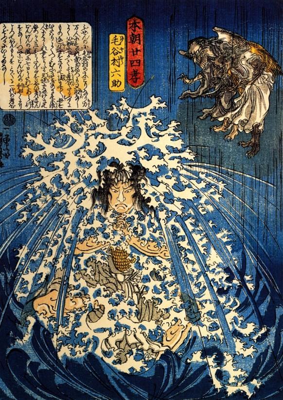 eau-japon-estampe-bois-Utagawa-Kuniyoshi-04