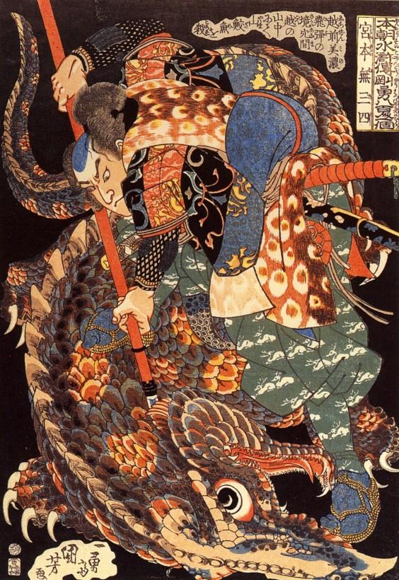 japon-estampe-bois-Utagawa-Kuniyoshi-14