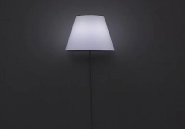 La lampe qui flotte