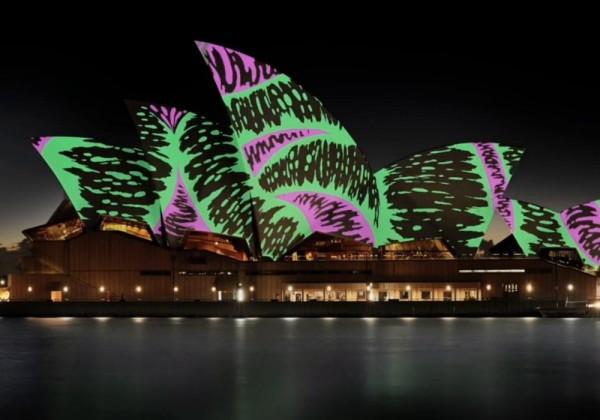 Les projections de 2015 sur l'Opéra de Sydney