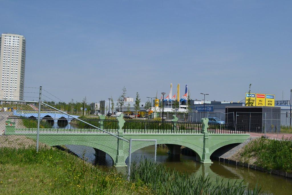 200 Euro Biljet-bridge at Spijkenisse, Holland