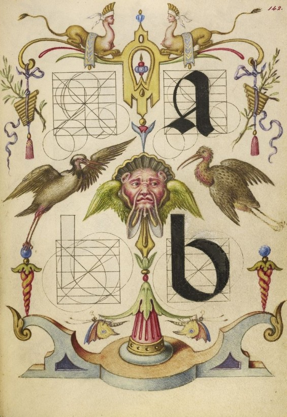 Hoefnagel-typographie-police-construction-minuscule-symbole-06